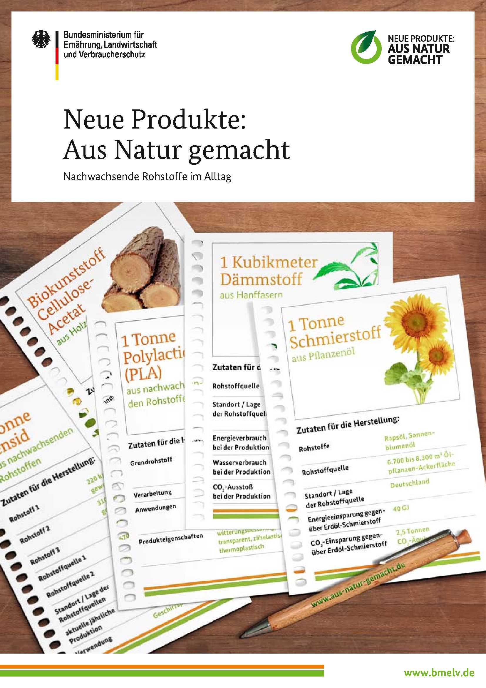 FNR: Lehrmaterialien für den Schulunterricht
